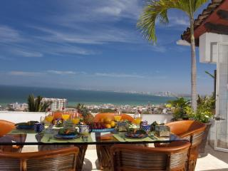 CASA LOUISA -  3 bedroom, 3 bath, pools, views, Puerto Vallarta