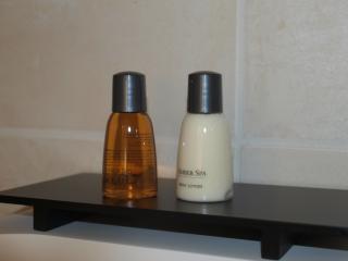pour votre bien-être shampooing-gel douche et lait corporel