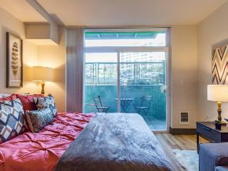 Modern, studio-style condo w/kitchen, perfect for two. Dog-friendly!, Seattle