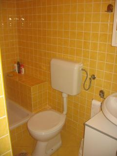 A4 Jurica (2+1): bathroom with toilet