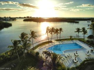 Amazing Sunset Views Over Gulf Of Mexico, Fort Myers Beach