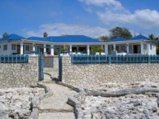 Blue sky villa,house on the cliffs and the SEA, Negril