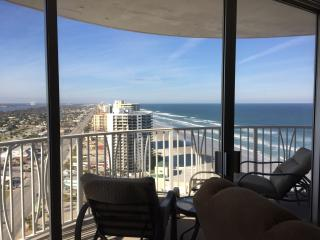 Outstanding Ocean Views,  Peck Plaza on the Beach, Daytona Beach