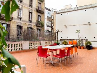 Gallery apartment with sunny terrace, Barcelona