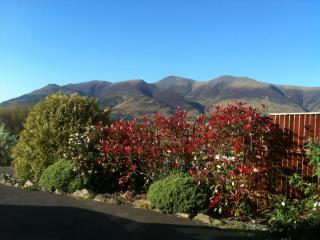 View of Skiddaw from front driver