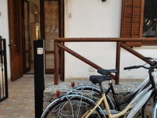 Ingresso Casa del Sole (2 biciclette a disposizione degli ospiti)