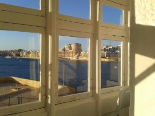 maltese balcony over looking the panoramic view