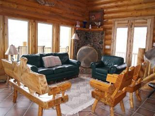 Large rustic 5bdr cabin, sleeps 12, 3 levels, awaits your outdoor adventures!