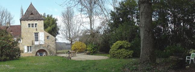 Le gîte et son jardin indépendant Mars 2016