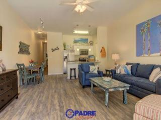 Come enjoy this luxurious poolside Townhouse that's just steps off the beach, Corpus Christi