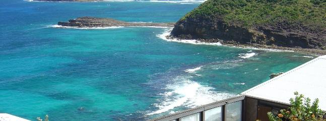 Cliffside location in Pointe Milou, St. Barthelemy