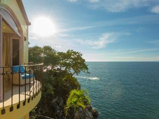 Oceanfront Villa, Heated Infinity Pool, Private Chef for 2 Meals / Day, Very Private, Puerto Vallarta