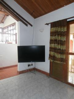 Living room and diner with 42inch flat screen - options available