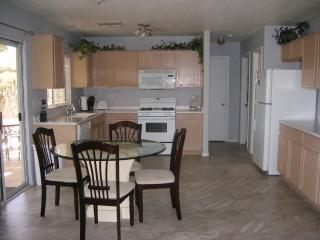 Large Spacious kitchen with all large and small appliances.  Fully equipped