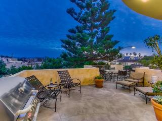 South Mission Beach Mediterranean Jewel with Ocean and Bay View, San Diego