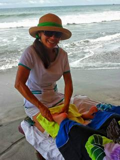 Get a beach massage from Itza Montero ( ask her about sunset special couples massage!!!)