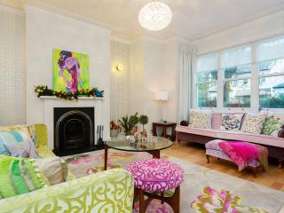 A unique and fun four-bedroom family home in North West London.
