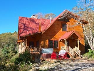 Cozy Guest Fav Cabin*AWESOME VIEW*Hottub*Fireplace, Zionville
