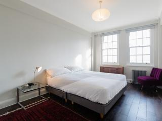 A light and airy two-bedroom flat in Primrose Hill., London