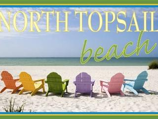 NC beach front condo, near Camp Lejeune, North Topsail Beach
