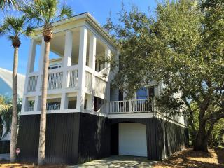 Oceanfront Home with Large Screen Porches, and Private Boardwalk to the Beach, Isle of Palms