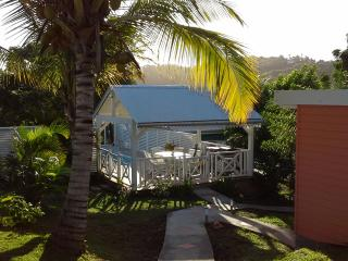 Piscine CaZméti'C - jardin - location sud martinique