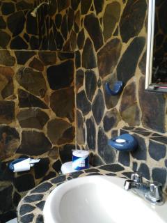salle de bain exceptionnelle ouverte sur la nature