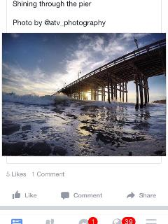 Beautiful pic if Ventura Pier