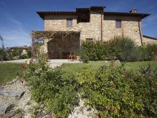 Beautiful apartment near San Gimignano with pool.
