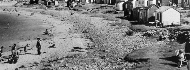 Hopeman West beach many years ago