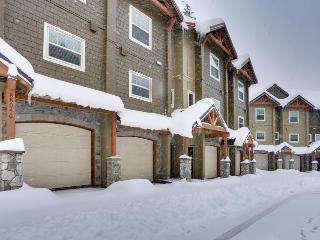 Modern, dog-friendly condo with a shared hot tub & pool, easy ski access!