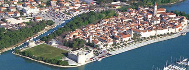 Trogir -the city under protection of UNESCO- 5 kom far away
