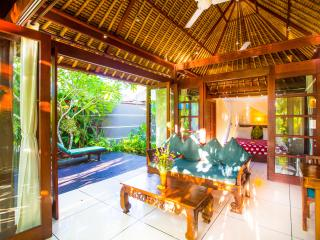 LUXURY Villa Jantung Million $ Views, Private Waterfall & Deck