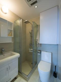 Main shower toilet