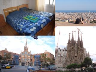 Habitación acogedora y luminosa en Bcn, Barcelona