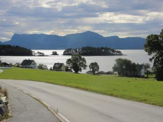 Beautifully situated by great fjord, Vinnes