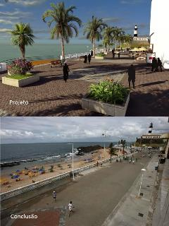 The new ''promenade'' by the sea!