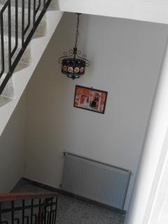 lower stairway landing