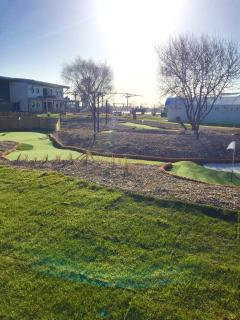 New clubhouse with childrens play area and crazy golf