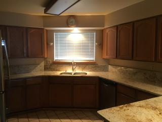 Newly remodeled Granite Kitchen with all new GE SS appliances