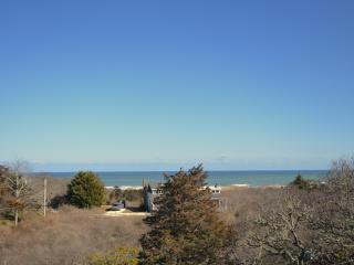 March View from upper deck - even nicer in Summer ; We often see whales from here