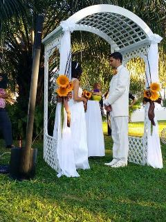 weddings in the green areas