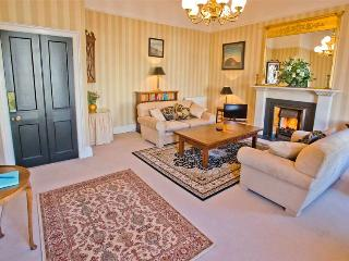 Elegantly decorated, many original features, central heating, living flame fire.
