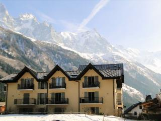 Modern 1BR(40m2) apt terrace 150m to ski and golf