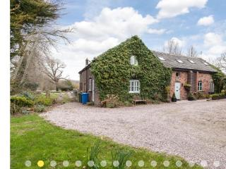 Grade 2 Listed Detached Barn in idyllic setting, Thelwall