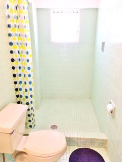 Vous pourrez utiliser la salle-de-bain bulles
