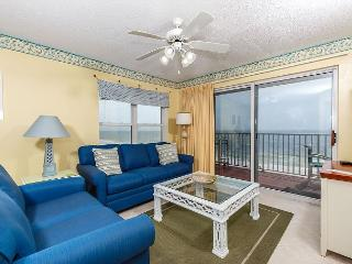 Amazing view from the 4th floor beach front living room.