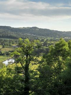 View of Towy valley from Dinefwr Park
