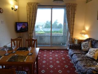Comfortable lounge dining room at Beumaris cottage Plas Heulog Llanfairfechan