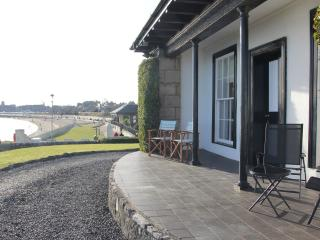 Seaside Cottage, Sea front at Burntisland